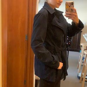 Jou Jou Jackets & Coats - Jou Jou Navy Blue Pea Coat